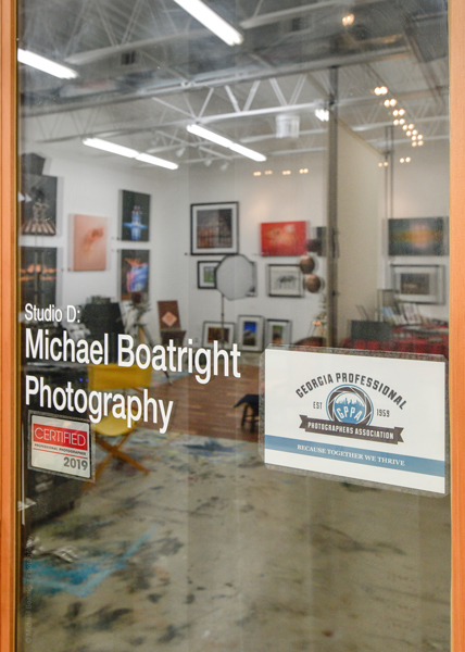 Michael Boatright Photography in Little Tree Art Studios